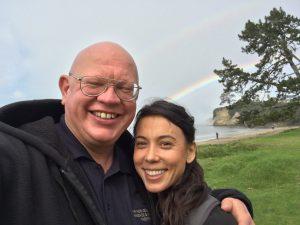 Brandon Raynor and his wife Cori Nicole